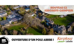 Ouverture d'un Pôle arbre au lycée de Kerplouz / LaSalle Auray