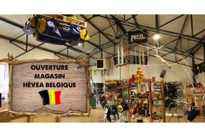 Ouverture du magasin Hévéa en Belgique