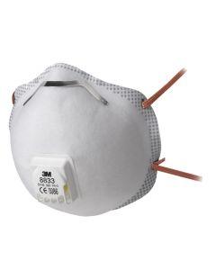 Masque antipoussières, série 8000 avec soupape Cool Flow™ - 3M