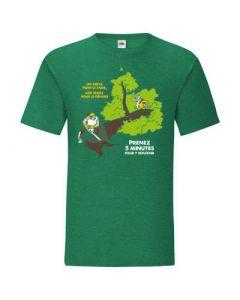 PRENEZ 5 MINUTES   T-shirt Homme - HEVEA