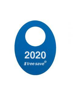 Anneau de signalisation 2020 bleu - TREESAVE