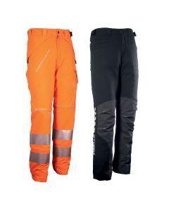 Créez votre pantalon de protection sur mesure en associant 1 Base de protection Arborflex (Classe 1 Type A ou B) et le pantalon Arborflex de votre choix (pantalon de travail, de pluie, haute vibilité).