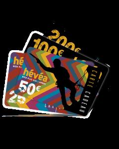 Carte cadeau HÉVÉA 50€