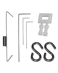 Accessoires Écopiège® écorce | Épingles, attaches rapide, crochets