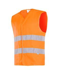 ELBA | Gilet haute visibilité - Orange fluo - SIOEN