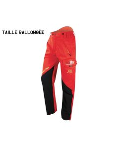 EVEREST PRO RALLONGÉ | Pantalon de protection rouge - FRANCITAL