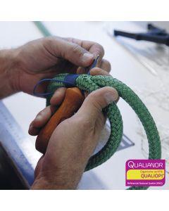 Formation aux épissures de rétention pour arboristes et élagueurs. Hévéa formations est certifié Qualiopi.