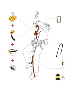 Kit SRT KNEE ASCENT LOOP Petzl | Exclusivité Hévéa