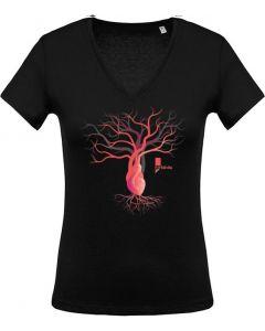 LIFE | T-shirt Femme manches courtes - HEVEA