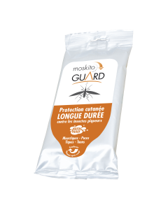 Moskito Guard anti-moustique | Répulsif cutané en lingettes - Dakem