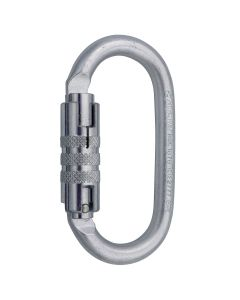 Mousqueton Oval Pro 2 Lock Acier