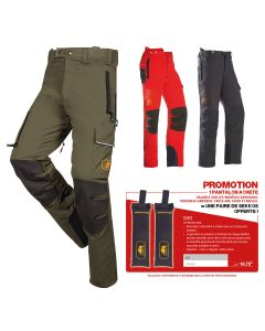 PROGRESS ARBORIST   Pantalon de protection - SIP PROTECTION pour élagueurs et forestiers