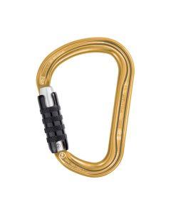 WILLIAM TRIACT LOCK | Mousqueton Alu Triple Lock couleur or - PETZL