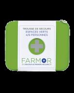 TROUSSE DE SECOURS ESPACE VERT | 4/6 personnes Farmor