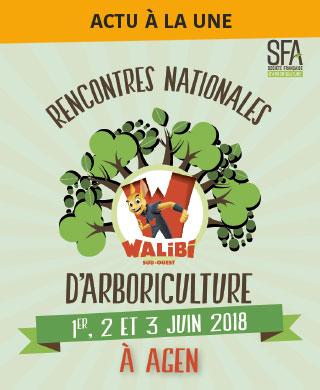 Rencontre Nationale d'Arboriculture 2018 - Agen Walibi
