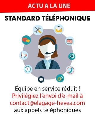 Informations standard téléphonique
