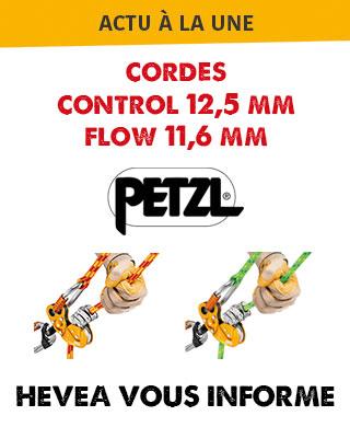 Hévéa vous informe sur les nouvelles cordes Petzl
