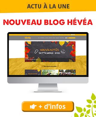 Nouveau blog Hévéa